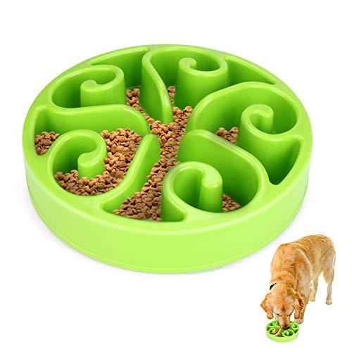 Welltop Hundenapf Interaktiver Hundenapf Langsame Fütterung Futternapf Anti Schling Fressnapf Umweltfreundlicher für Hundefutter