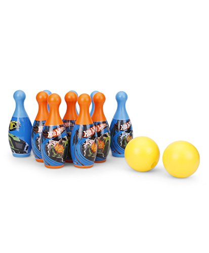 My Baby Excel Mattel Hot-Wheels Bowling PVC Plastic Set