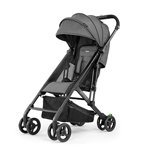 Chicco Piccolo Stroller - Carbon, Grey