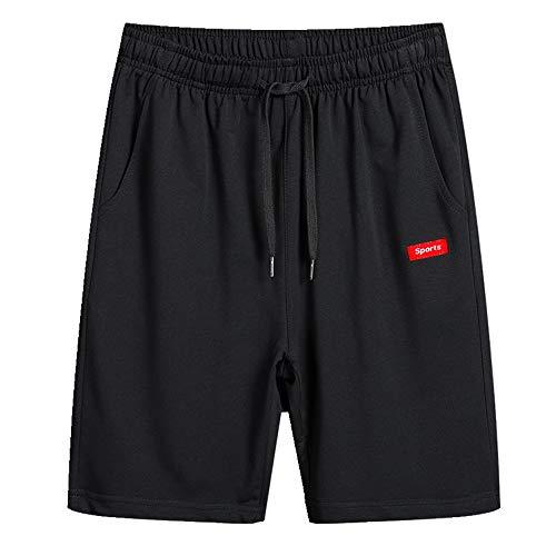 NOBRAND Pantalones cortos de algodón de verano pantalones cortos atléticos de los hombres