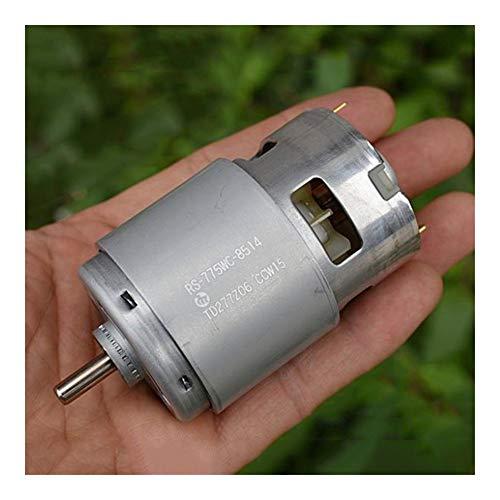 Fashion SHOP Motores 300W Mabuchi RS-775WC Motor de la CC 12V 14.4V 18V de Alta Velocidad de la energía Gran Jardín de par de Herramientas Taladro eléctrico del Motor del Eje 5 mm 300W Electric Parts