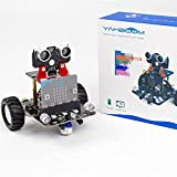 Yahboom BBC Micro:bit V2 V1.5 Coding Robot Car Kit STEM Education for Kids to Programmable DIY Toy for 12+ (Without Micro:bit)