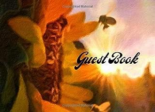 Guest Book: Sunflower 8.25x 6