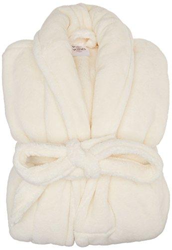 Blanc des Vosges Peignoir Athena Ivoire Taille S - Microfibre 275 gr/m²