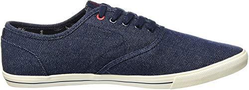 JACK & JONES Herren JJSPIDER Canvas Light Sneaker, Blau (Blue Denim), 44 EU