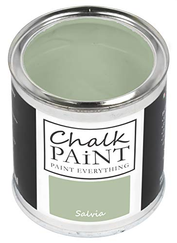 Everything CHALK PAINT Salvia 250 ml - SENZA CARTEGGIARE Colora Facilmente Tutti i Materiali