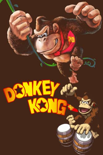 Donkey Kong Notebook: Lined Pages Notebook Small Size 6x9 inches / 110 pages / Original Design For Cover And Pages / It Can Be Used As A Notebook, Journal, Diary, or...