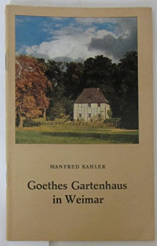 Goethes Gartenhaus in Weimar.