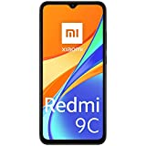 Xiaomi Redmi 9C Smartphone 2GB 32GB 6.53' HD+ Dot Drop display 5000mAh (typ) AI Face Unlock 13 MP AI Triple telecamera [Versione globale] Grigio