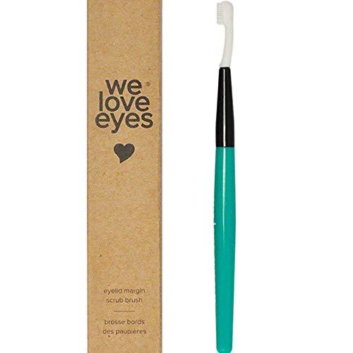 We Love Eyes - Spazzola per scrub marginale per palpebre, ideale per rimuovere detriti e pulizia dei margini delle palpebre.