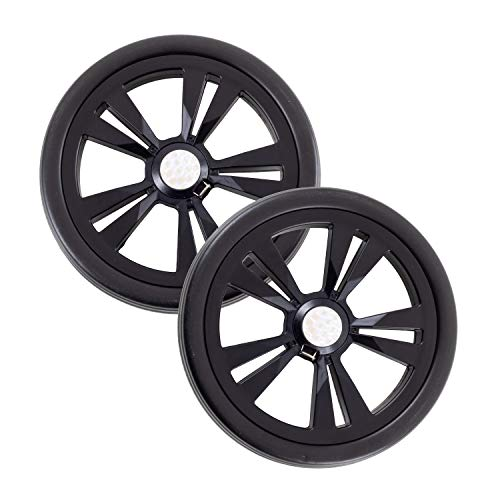 Andersen Ersatzrad-Set für Einkaufstrolley Komfort und Quattro (Hinterrad), Ø 200mm, schwarz