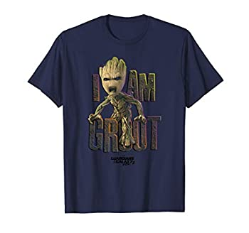 Marvel Guardians Vol.2 I AM GROOT Cute Angry T-Shirt