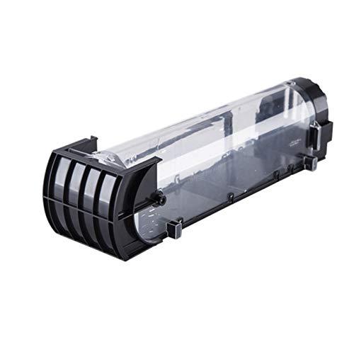 WSJQWHW Ratonera Reutilizable de plástico Transparente for Uso Interior y Exterior, Roedor/Insecticida (Color : Black)