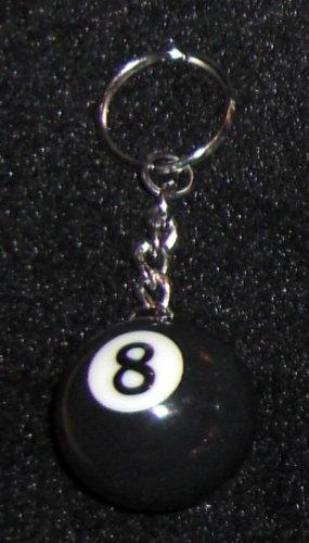 8-Ball Schlüsselanhänger Billiardkugel