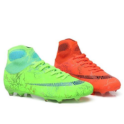 Zapatos De Fútbol Zapatos con Pinchos Zapatos Rotos Césped Artificial Plano Entrenamiento De Estudiantes Botas De Fútbol Juvenil