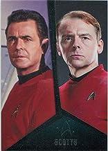 Star Trek TOS Captains Collection Bridge Crew Chase Card D4 Scotty Doohan Pegg
