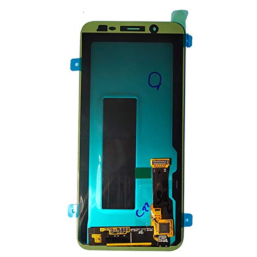 LYXDZW Ajuste De La Pantalla del Teléfono Móvil Fit For Samsung Galaxy A6 2018 A600 A600F A600FN Pantalla Táctil Montaje Digitalizador Pantalla táctil de visualización FF (Color : Original Black)