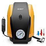 Suaoki - Compresor de aire, Bomba inflador portátil con luz (12V, 150 PSI, 21L/Min,...