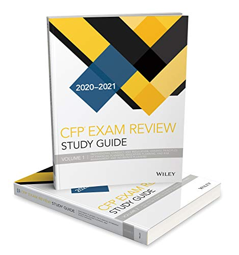 Wiley Study Guide for 2020 - 2021 CFP Exam: Complete Set