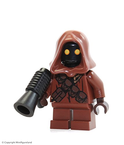LEGO Star Wars Jawa minifigure with Black gun from Sandcrawler (75059)