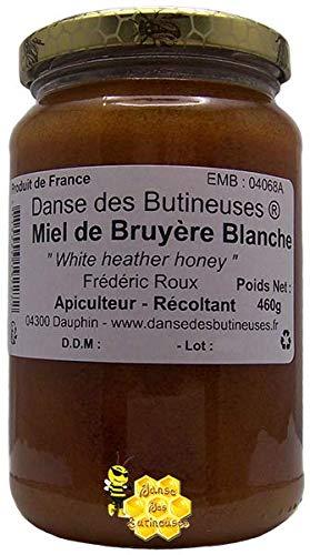 Miel de Bruyère Blanche 460g Liquide / DIRECT PRODUCTEUR / Produit de France