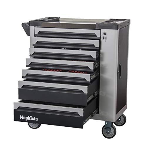 Premium verktygsvagn med 7 lådor inkl. verktyg