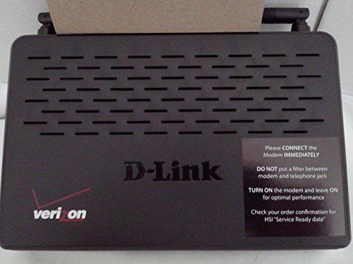 D-Link DSL Wireless N ADSL2+ Modem Router Model DSL-2750B Verizon ver: VZ_1.44