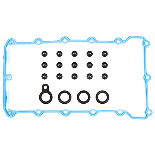 Evergreen VC9318 Valve Cover Gasket Set Compatible With 91-98 BMW 328i 328is 328ti Z3 1.8 1.9 DOHC M42 M44