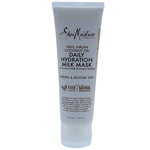 SHEA MOISTURE 100% Virgin Coconut Oil Daily Hydration Milk Mask