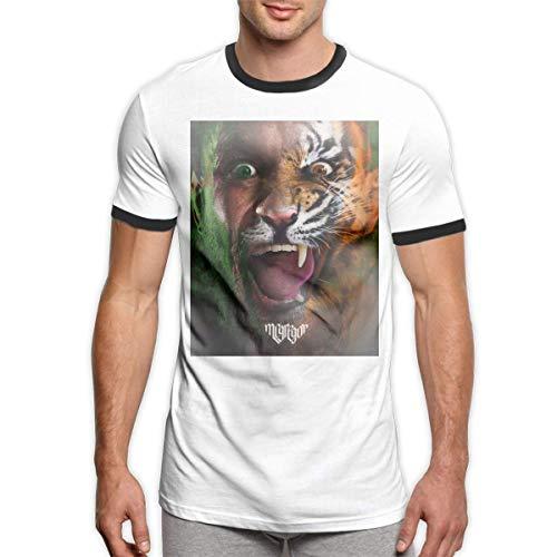 HuXiHuXiHu Camisetas y Tops Hombre Polos y Camisas, Fashion Men's T-Shirt Conor Mcgregor Notorious Round Neck Short Sleeve Tees