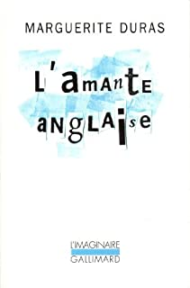 By Marguerite Duras L'Amante Anglaise [Paperback]