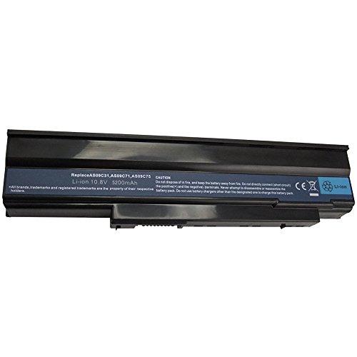 Notebook Laptop Akku 5200mAh für Acer Extensa 5235 5635G 5635-G 5635Z 5635-Z ersetzt AS09C31 AS09C70 AS09C71 AS09C75 AS-09-C-31 AS-09-C-70 AS-09-C-71 AS-09-C-75 Batterie Battery