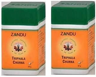 2 X Zandu Triphala Churna - 50g by Zandu