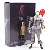7inch PVC Anime Figure Stephen King's It Evil Joker The Clown Pennywise Figure Model Toys 2017 Horror for Fans Collectible Gift