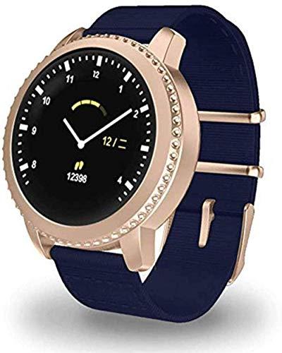 Smart Watch 1.22 Raqueta pantalla redonda pulsera inteligente IP68 impermeable USB carga para hombres y Momen Fitness/Deportes desgaste diario A-D