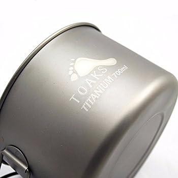 Titanium 700ml Pan -Ultralight
