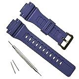 OliBoPo - Cinturino di ricambio per orologio Casio SGW-300H AE-1200 W-800H AQ- S800W AQ-S810W Equalizer 2.0 True Balance