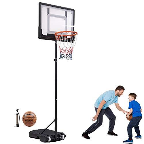 Bodywell Basketball Hoop & Goal Basketball System Height Adjustable Basketball Stand System for Kids...