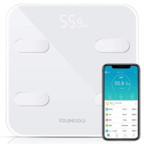 YOUNGDO Body Fat Scale [Upgraded Version to 23 Essential...
