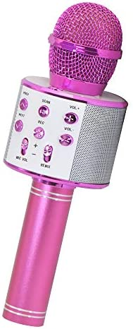 Gifts for Girls Age 4 10 Wireless Bluetooth Karaoke Microphone for Kids Girls Best Popular Birthday product image