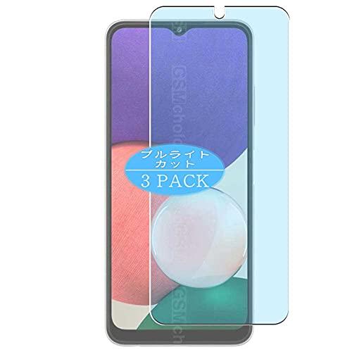 VacFun 3 Piezas Filtro Luz Azul Protector de Pantalla, compatible con SAMSUNG GALAXY A22 4G, Screen Protector Película Protectora(Not Cristal Templado)