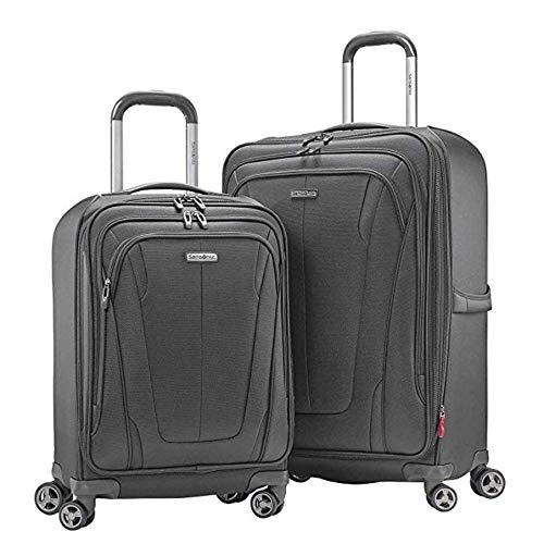 Samsonite GT - Juego de maletas de 2 piezas con 4 ruedas giratorias de 19 pulgadas y 27 pulgadas