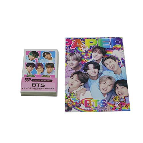 BTS Bangtan Boys - Mini Photo cards Set with free Postcards (59pcs)