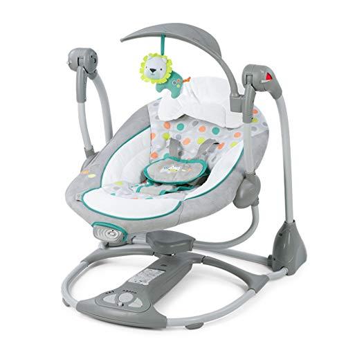 Stootrel- Silla Mecedora for bebés, Cuna Mecedora for recién Nacidos, Columpios for niños, hamacas y balancines for bebés, Mecedora for bebés Cuna automática Segura (Color : 1#)