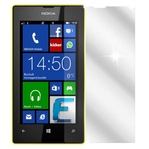 dipos I 2X Schutzfolie klar kompatibel mit Nokia Lumia 520 Folie Displayschutzfolie