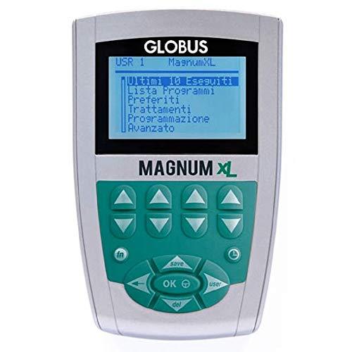 Globus G3218, Magnetoterapia Magnum XL con solenoidi rigidi Unisex Adulto, Argento, Unica