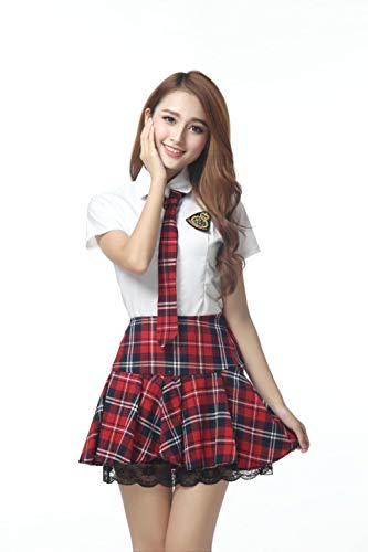 MEN.CLOTHING-LEE Damen-Reizwäsche BH-Hemden für Damen Japanische und koreanische Schuluniform Herbst und Winter Manteluniform schwarz weiß langärmelige Studentenuniform Klasse Kleidung-Single Coat_S