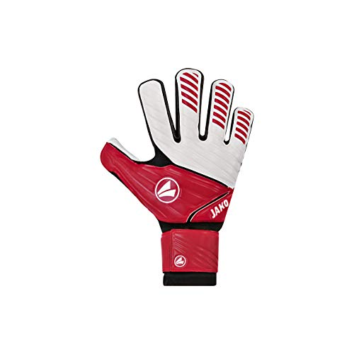 JAKO Torwart-handschuhe Champ Basic RC Protection, rot/schwarz/weiß, 8, 2540