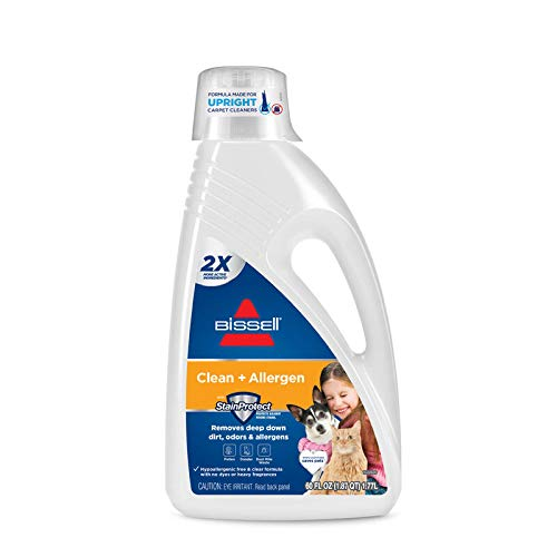 BISSELL 2X Allergen Cleansing Full Size Machine Formula, 60 ounces, 89Q5A