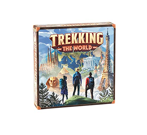 Trekking The World: A Family Board Game Perfect for Your Next Family Game Night / One of The Best Board Games for Adults and Family / from The Creators of Trekking The National Parks